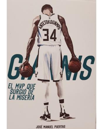 Libro Giannis Antetokounmpo. El MVP que surgió de la miseria